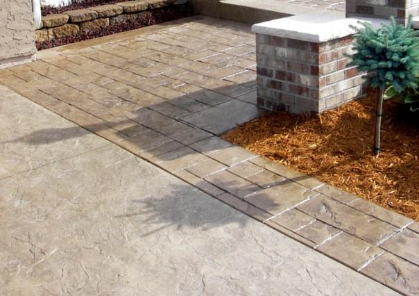beton-amprentat
